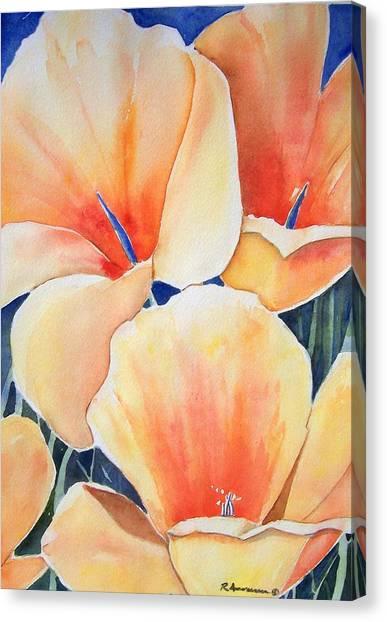Poppy Song Canvas Print by Regina Ammerman