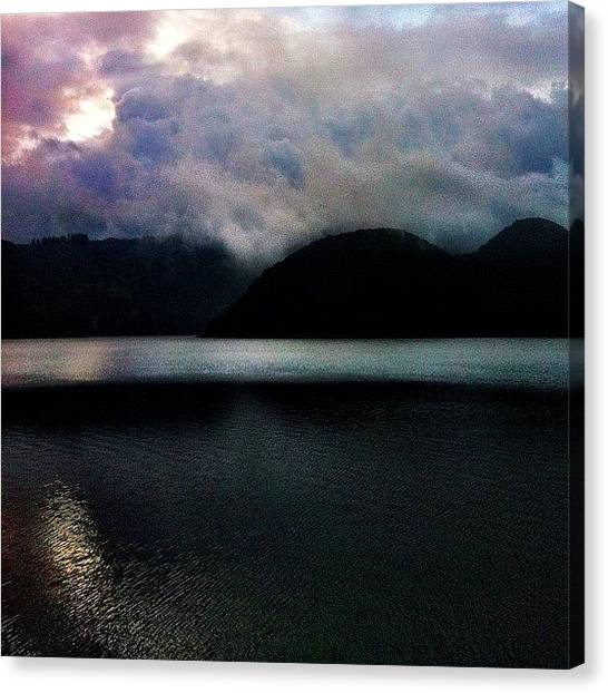 Volcanoes Canvas Print - #popular #ecuador #instagood #iphonesia by Martin Endara