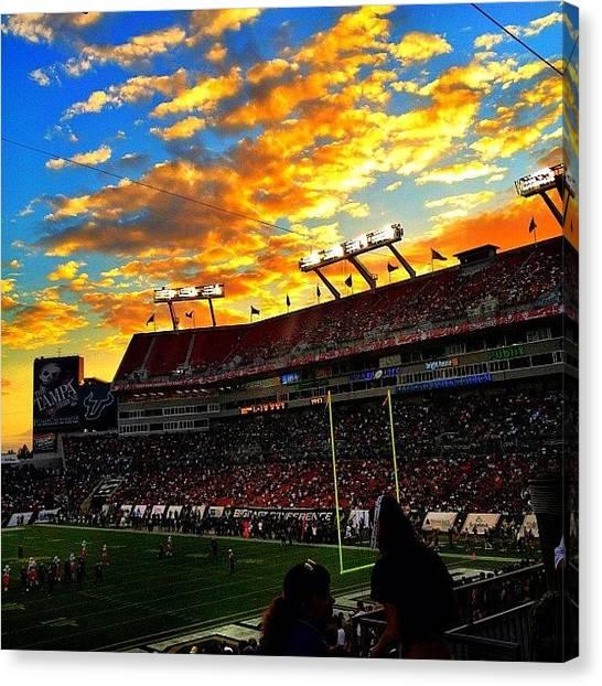 Stadiums Canvas Print - #popular #picoftheday #instagram by Matt Turner