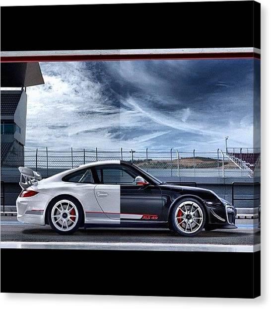 Porsche Canvas Print - #porsche #911 #gt3rs #limitededition by Exotic Rides