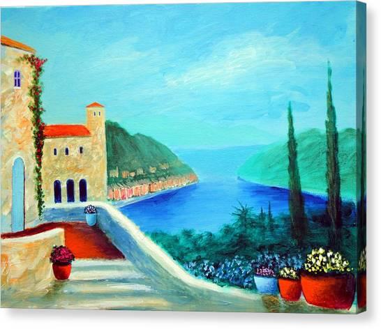Portafino Pleasures Canvas Print
