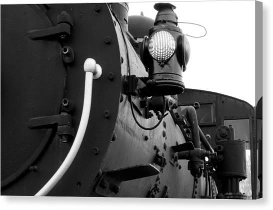 Porter Steam Engine Canvas Print