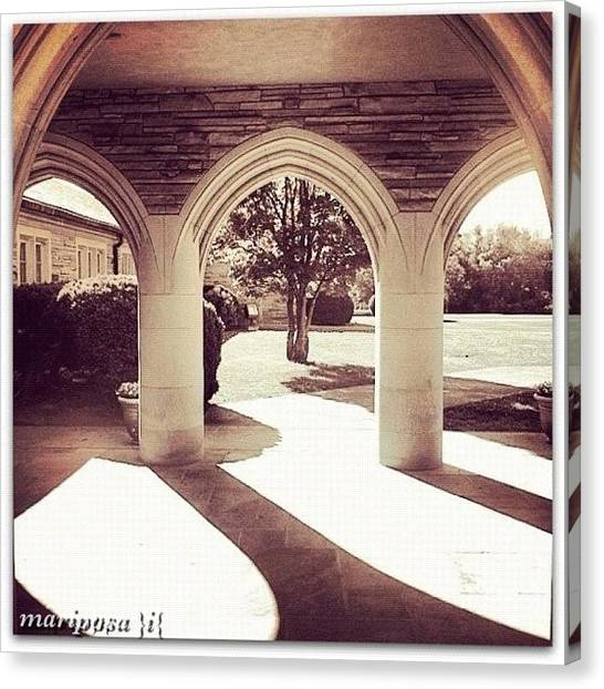 Tennessee Canvas Print - Portico by Mari Posa