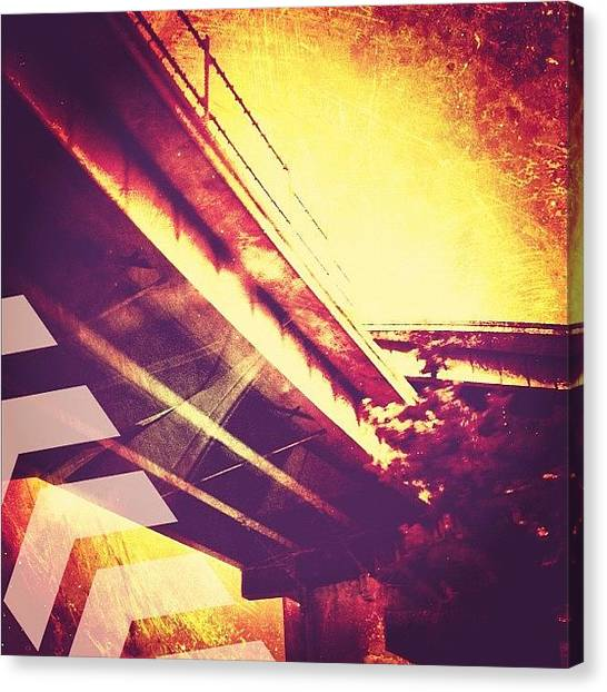 Iphoneonly Canvas Print - Portland #iphoneonly #iphone by Johnathan Dahl