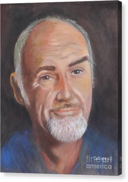 Portrait Of Sean Canvas Print