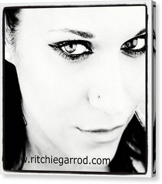 Greek Art Canvas Print - #portrait #photoshoot #bnw #headshot by Ritchie Garrod