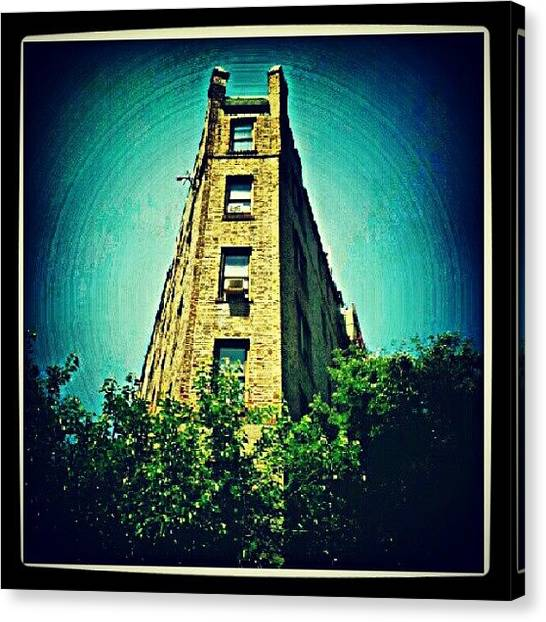 Installation Art Canvas Print - #postcard #greetings #bronx #nyc #ny by Radiofreebronx Rox