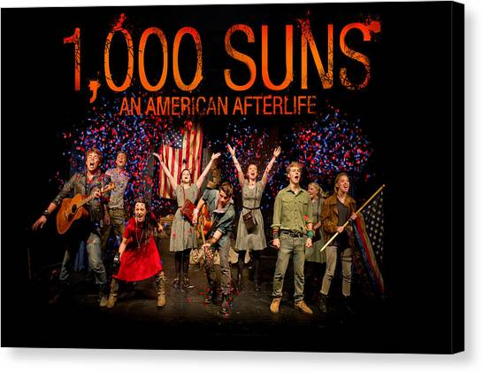 Poster For 1000 Suns - An American Afterlife Canvas Print