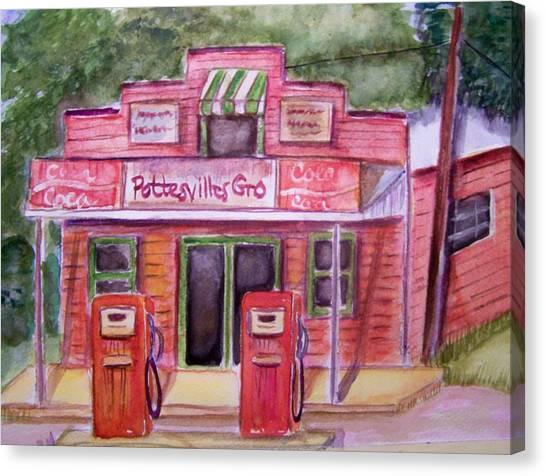 Pottesville Gro. Canvas Print