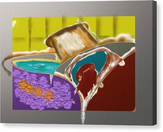 Pour While Hot Canvas Print
