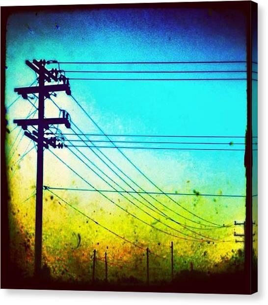 Power Canvas Print - Power Dust ~ Corron Xtrillion by Glen Campbell