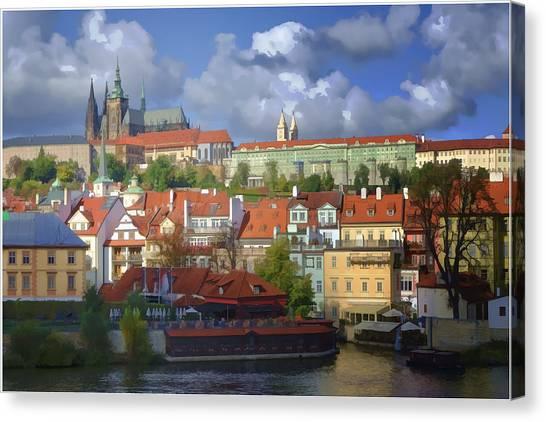 Capital Ship Canvas Print - Prague Dreams by Joan Carroll