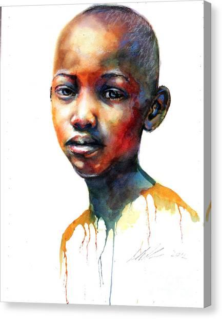 Precious II Canvas Print