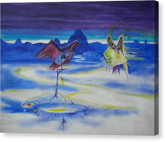 Predatory Deception Canvas Print by Christophe Ennis