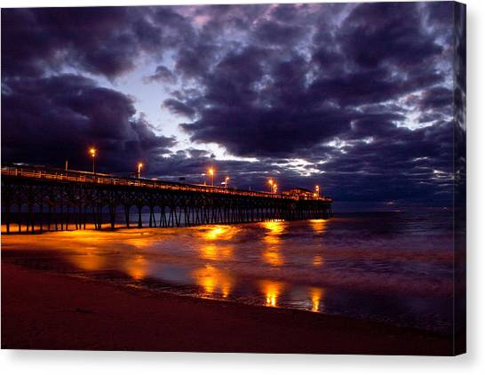 Predawn Morning Canvas Print