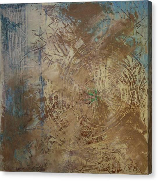 Preserve The Blue Gold Canvas Print