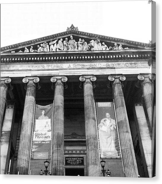 Libraries Canvas Print - Preston, Harris Museum by Rachael Hunter