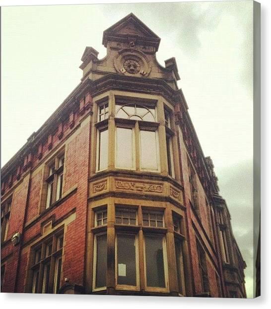 Hunting Canvas Print - Preston, Old Building by Rachael Hunter
