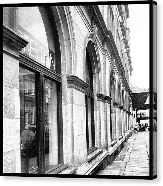 Hunting Canvas Print - Preston, Old Post Office by Rachael Hunter