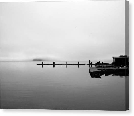 Priest Lake Morning Canvas Print