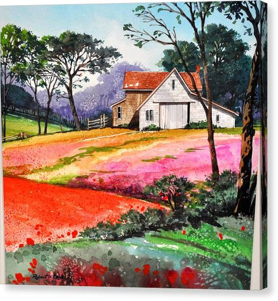 Primrose Farm Canvas Print