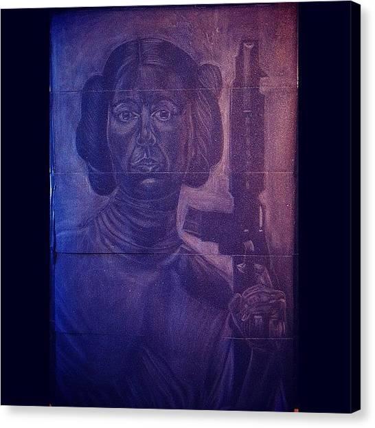 War Canvas Print - Princesa Leia#art #artwar #starwars by Art War