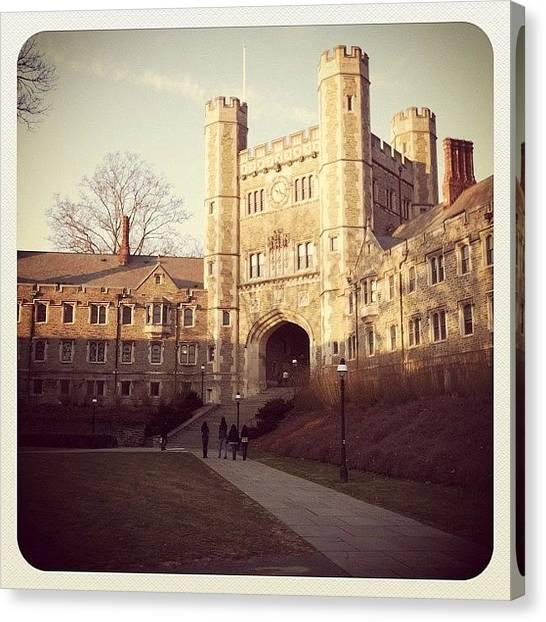 Ivy League Canvas Print - Princeton by Kristenelle Coronado