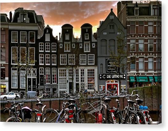 Prinsengracht 458. Amsterdam Canvas Print