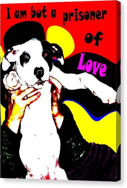 Prisoner Of Love Canvas Print by Jann Paxton