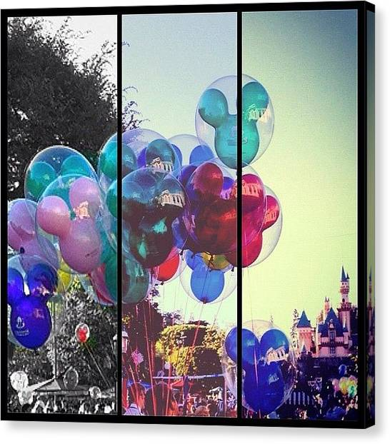 Mice Canvas Print - Progression #disney #disneyland #mickey by B C