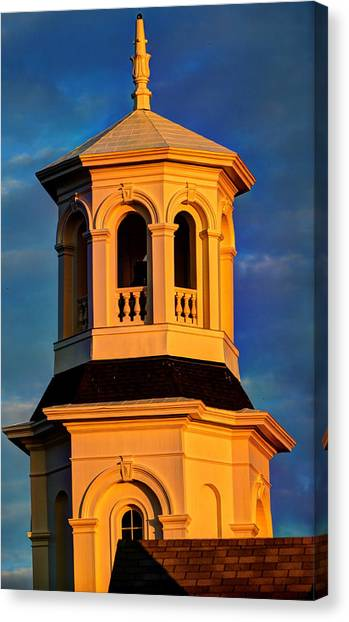 Provincetown Town Hall 2012 Canvas Print