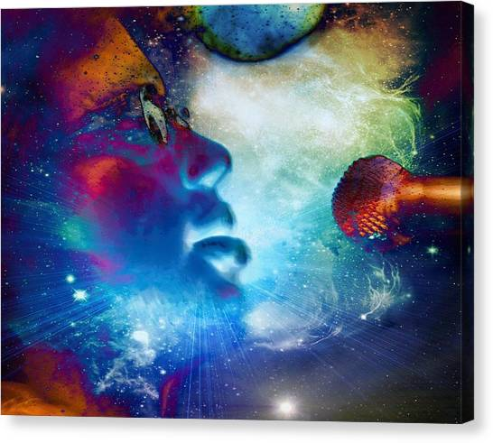Psychedelic Soul 1 Canvas Print