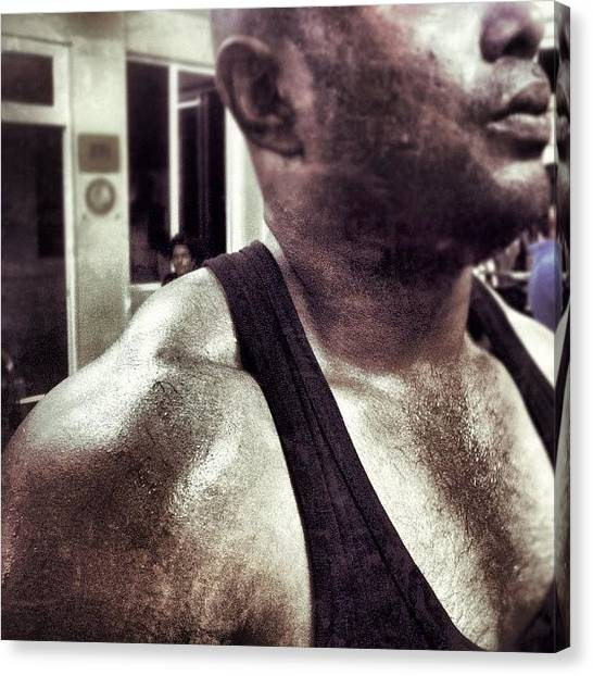 Gym Canvas Print - Pumped Up Traps!! Ft. @blackbeast by Abid Saeed