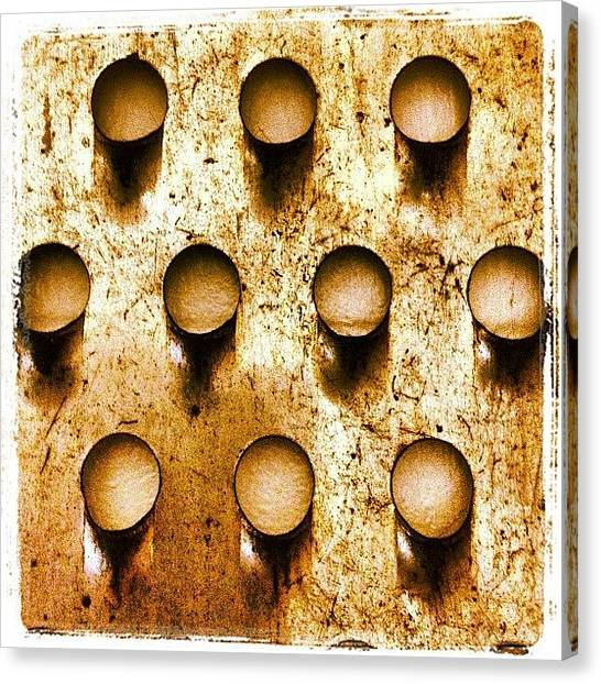 Food And Beverage Canvas Print - Puncture by Ken Powers