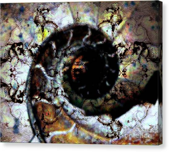 Pure Abstraction Canvas Print