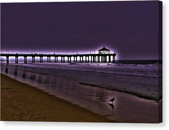 Purple Dawn Canvas Print