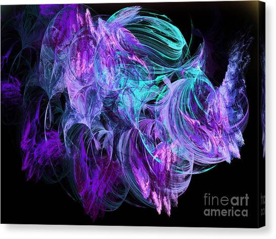 Purple Fusion Canvas Print