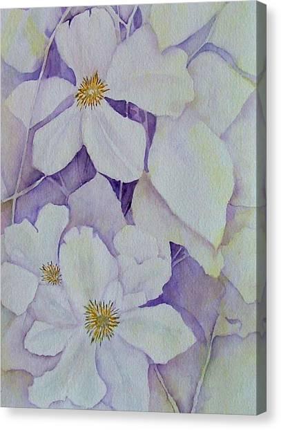 Purple Shades Canvas Print