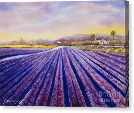 Purple Spain Canvas Print
