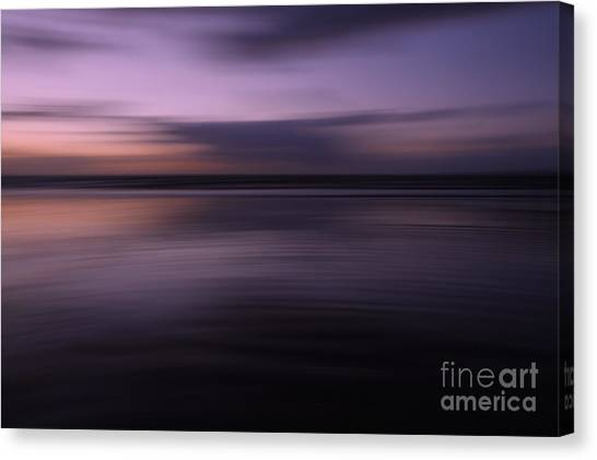 Purple Sunset Canvas Print by Urban Shooters