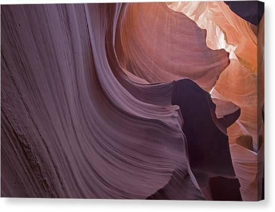 Purple Sweep Canvas Print