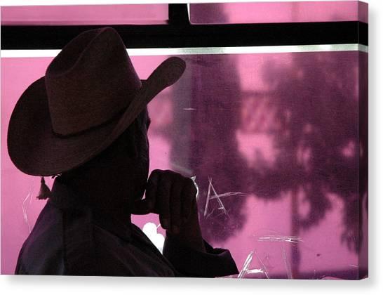 Purple View  Canvas Print by Fabio Lorenzano