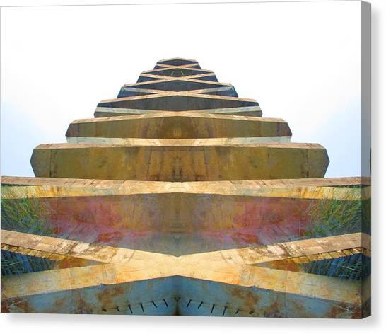 Pyramid Canvas Print by Michele Caporaso