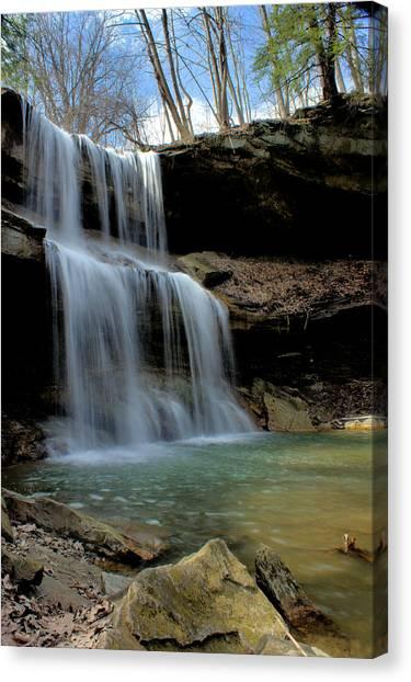 Quakertown Falls Canvas Print