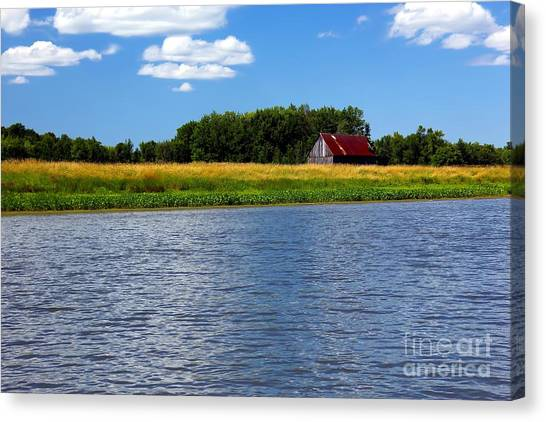 Quebec Countryside Canvas Print by Sophie Vigneault