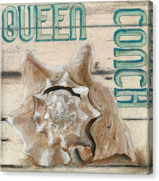 Queen Conch Canvas Print