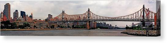 Queensboro Bridge Canvas Print