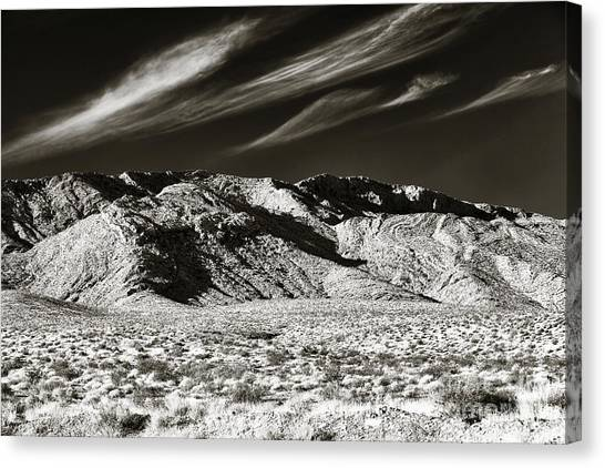 Quiet In The Valley Canvas Print by John Rizzuto