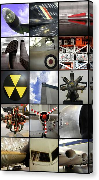 Raf Museum At Cosford Canvas Print
