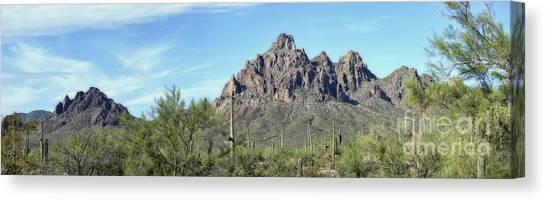 Ragged Top Mountain Panorama Canvas Print
